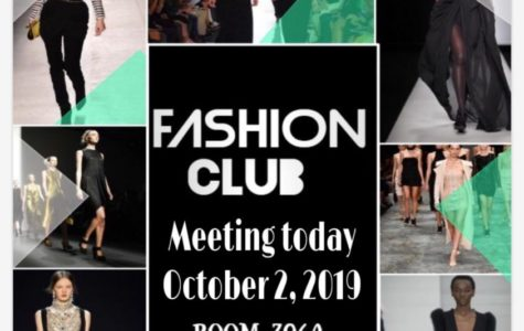 First day of Fashion Club!!!