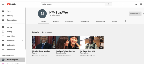 NWHS Jagwire YouTube Channel adds new Segment